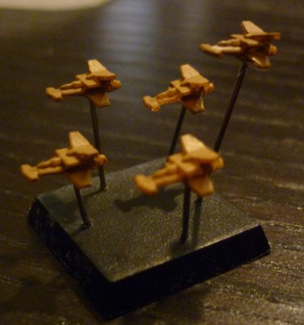 Battlefleet Kafeinus - De la 3D dans le hobby - Page 4 Banshee
