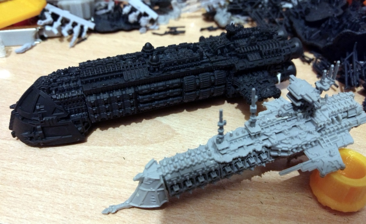 Battlefleet Kafeinus - De la 3D dans le hobby - Page 6 Conveyor2