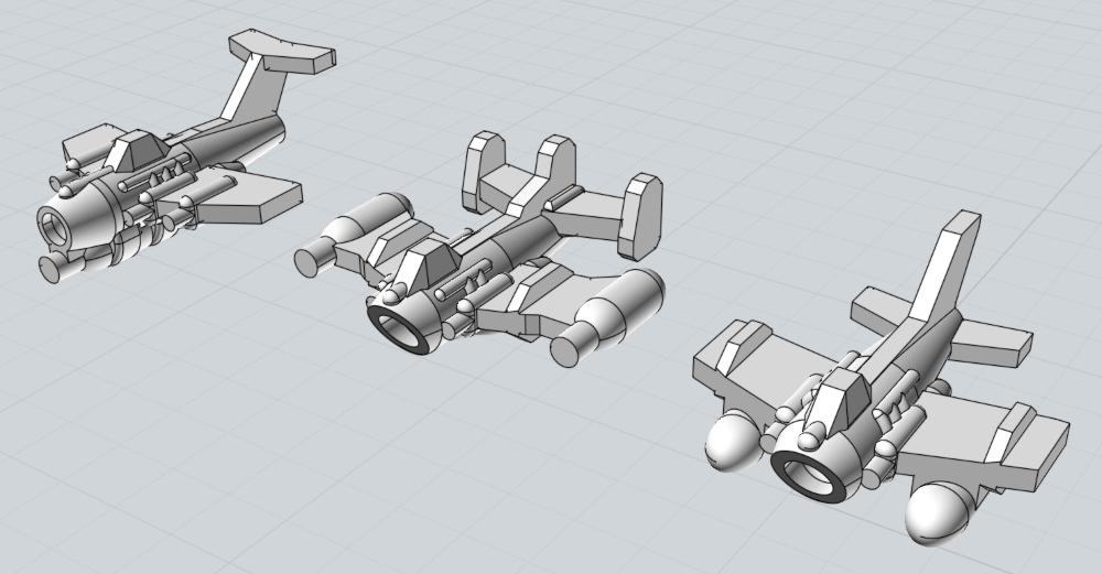 Battlefleet Kafeinus - De la 3D dans le hobby - Page 5 Fighta_Bommas_Tier1