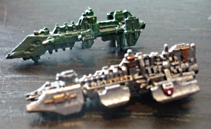 Battlefleet Kafeinus - De la 3D dans le hobby - Page 4 GK_Huntr