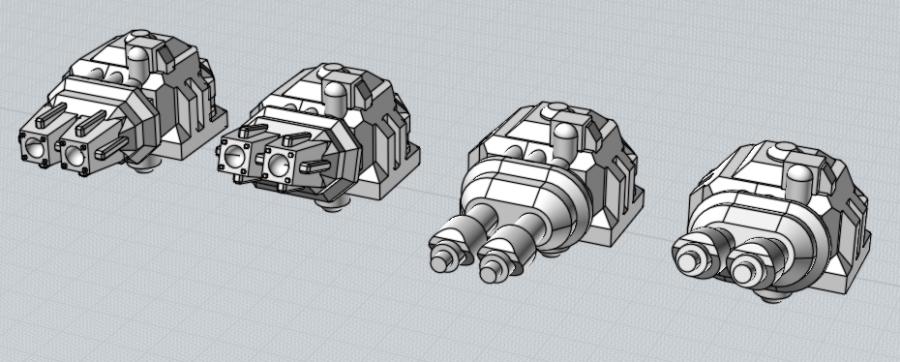 Battlefleet Kafeinus - De la 3D dans le hobby - Page 2 00_Turrets_Beaky