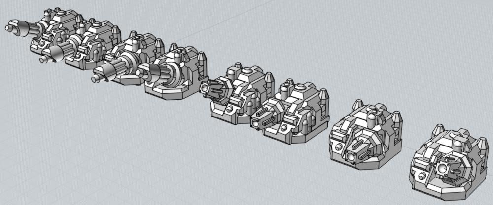 Battlefleet Kafeinus - De la 3D dans le hobby - Page 2 00_Turrets_Crescent