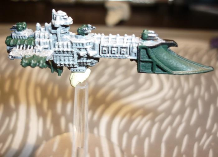Battlefleet Kafeinus - De la 3D dans le hobby - Page 3 0_Firedagger_proto