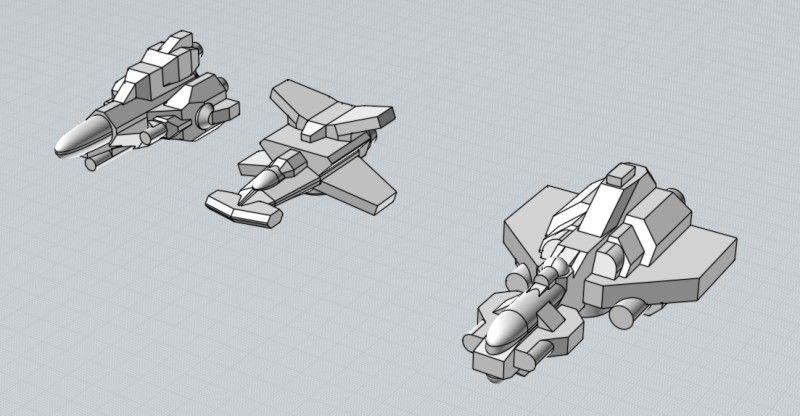 Battlefleet Kafeinus - De la 3D dans le hobby - Page 3 Arrowhead_Hammerhead_Banshee